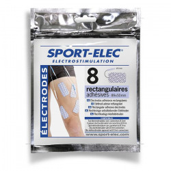 Offres pro OFFRE 40 électrodes rectangulaires fiche 2mm