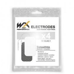 Offres pro OFFRE 100 électrodes WX rectangulaires fiche 2mm