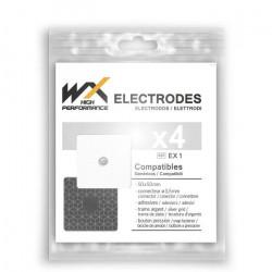 Offres pro OFFRE 100 électrodes WX carrées compatibles Compex Snap