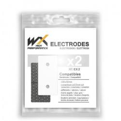 Offres pro OFFRE 100 électrodes rectangulaires compatibles Compex Snap